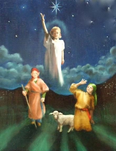 Angel Announces Birth of Jesus Christ the Savior to the Shepherds