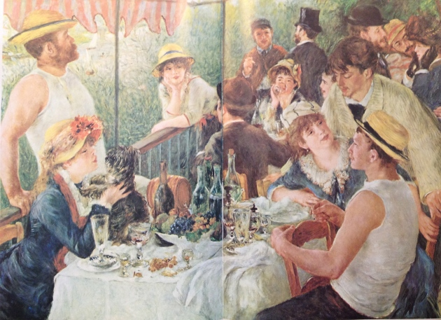 """Luncheon of the Boating Party' by Renior 1881"