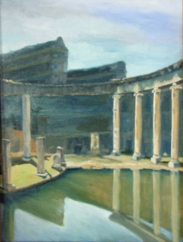 Roman Ruins by Ginger Dean